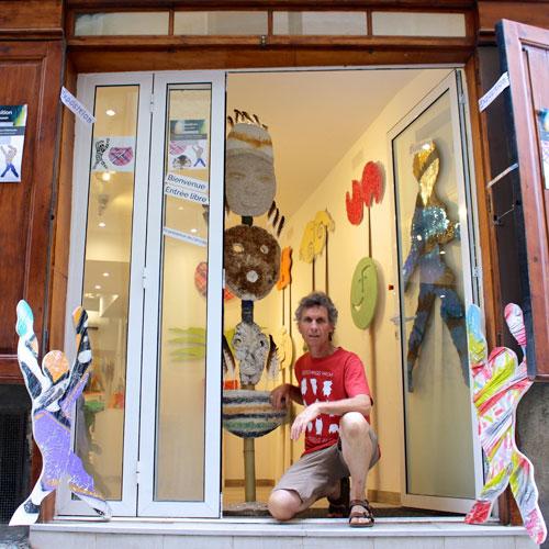 Exposition «En Avant !», «Le Baiser», «Masques et totems» / Avril 2017