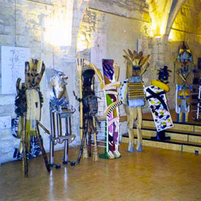 Peintures-sculptures-photos-installations / 1997