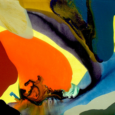 """Peinture Claude Jouany """"Mémoire de nature"""""""