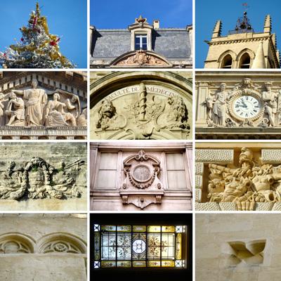Panneau d'association photographique - Approche Montpellier - Compositions