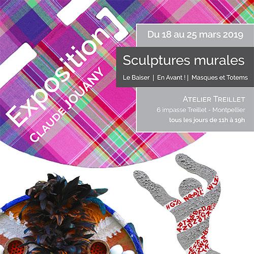 Exposition «En Avant!», «Le Baiser», «Masques et totems», Peinture / Mars 2019