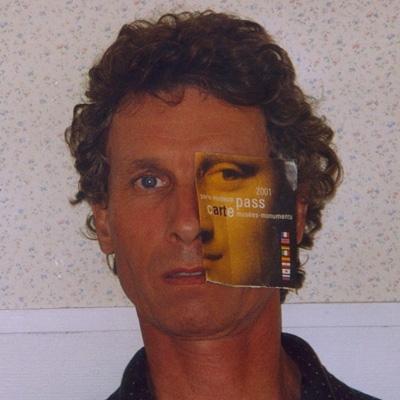 Autoportrait Claude Jouany Artiste plasticien