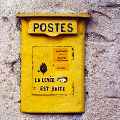 Exposition-installation «Échange postal» / 2008