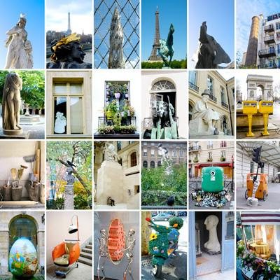 Panneau d'association photographique - Approche Paris - Compositions