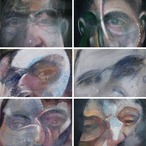 Panneau d'association photographique - Les regards de Francis Bacon