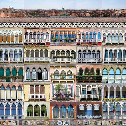 Panneau d'association photographique - Palazzo Venise